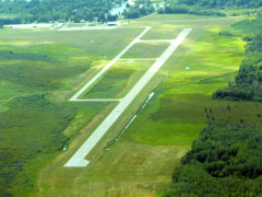 Roscommon County Blodgett Memorial Airport in 2008